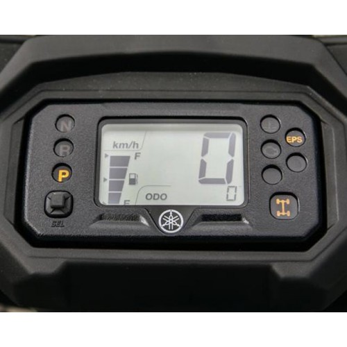 LCD Instrument Cluster