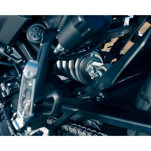 Fully adjustable rear suspension