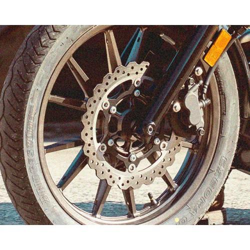 Powerful brakes