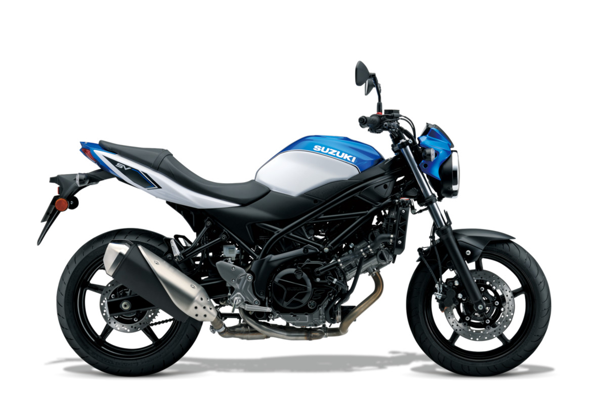 Suzuki SV650 Learner Approved