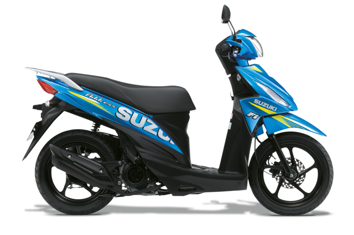 Suzuki Address 110 GP Limited Edition